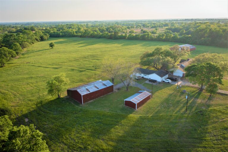 Barn Areal View - 11202 Palestine Road