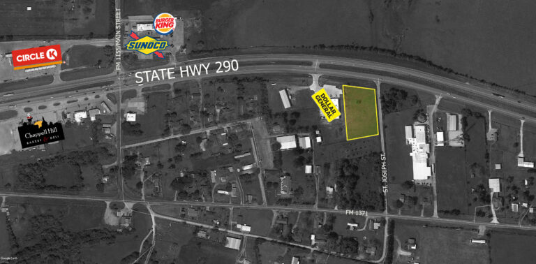 HWY 290 property outline
