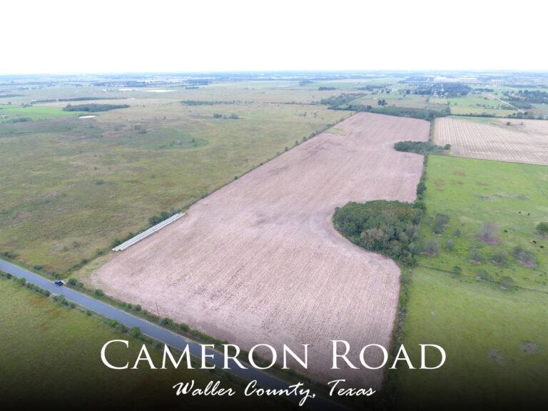 Cameron Road Waller County Texas Real Estate