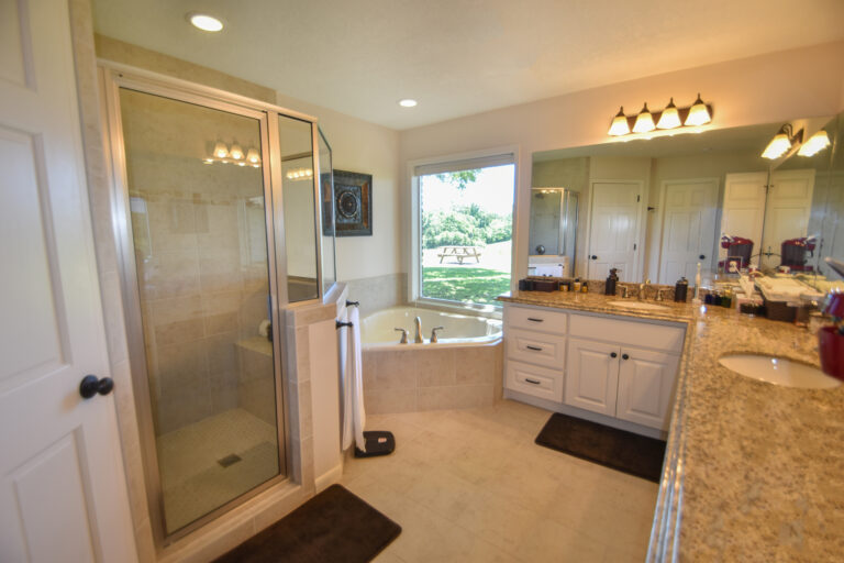 Master Bathroom in 11202 Palestine Road with Granite Counter