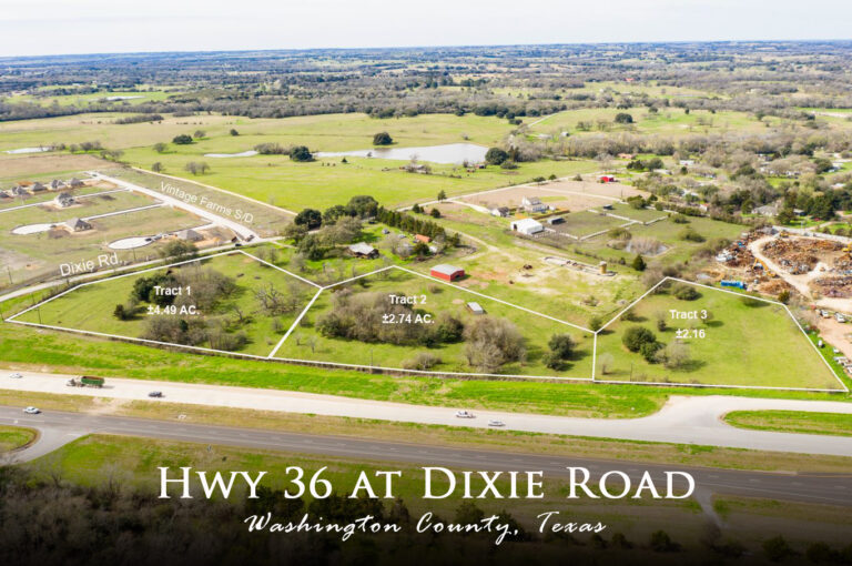 HWY 36 At Dixie Road Land Map