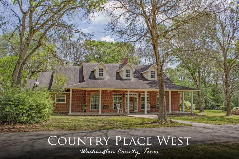 Country Place West Main Text