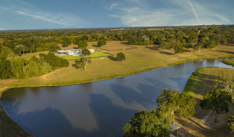 Stunning Areal View of Running Creek Ranch
