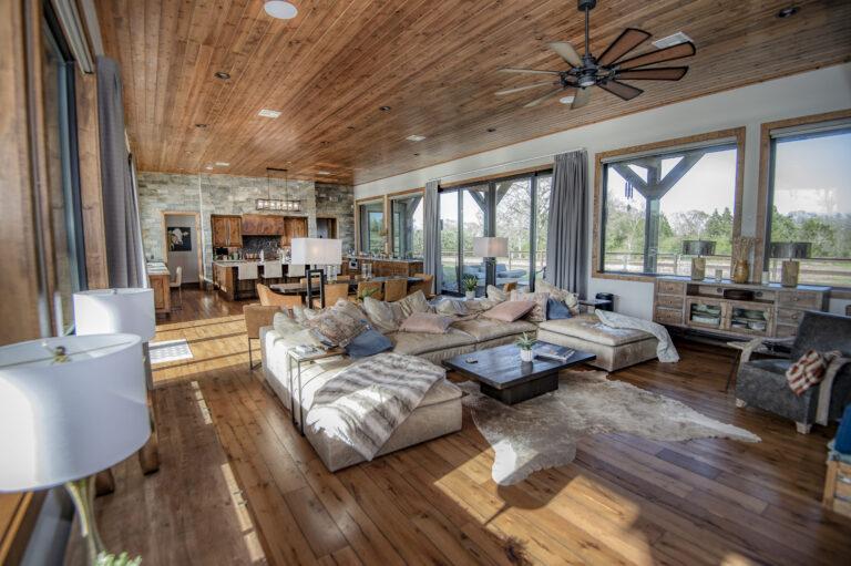 Living Room Running Creek Ranch