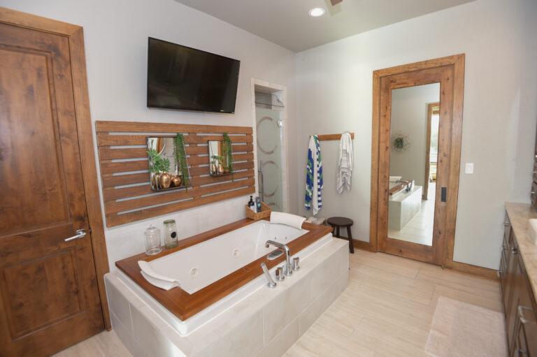 Master Bathroom on Texas Residential Property
