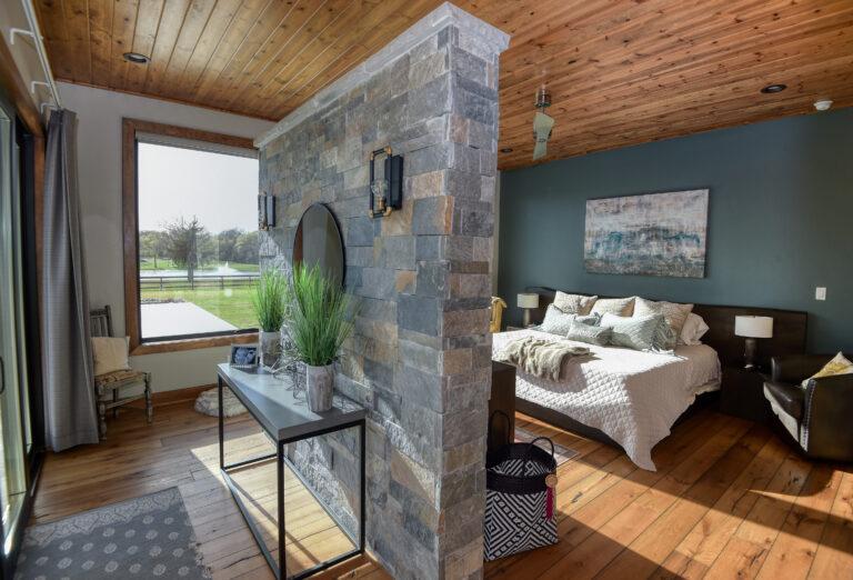 Master Bedroom of showcase listing Hodde Real Estate