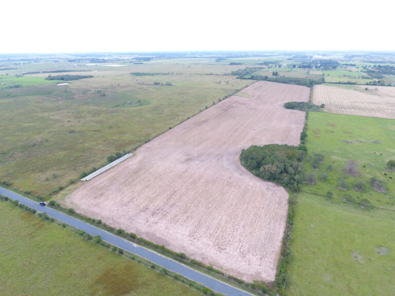 Cameron Road Lot For Sale Ariel View