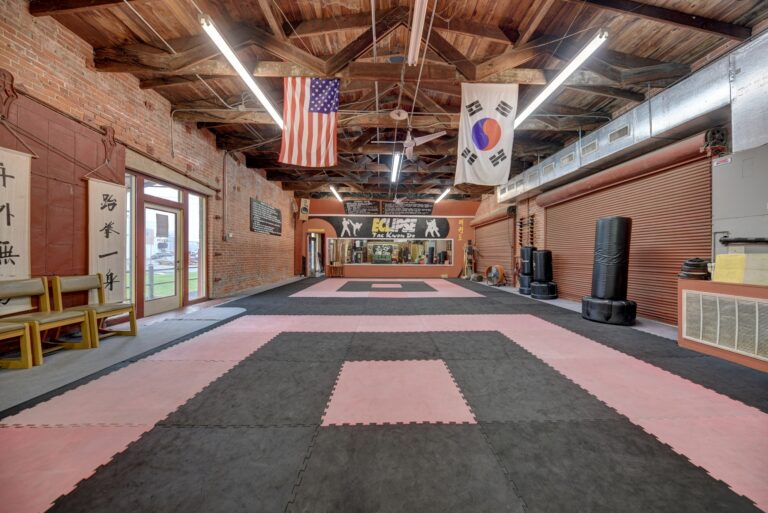 306 South Market Street Dojo with Flags