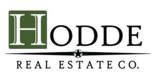 Hodde Real Estate Company - Black and White Logo