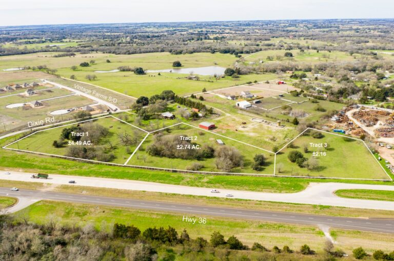 HWY 36 Tracts for Sale