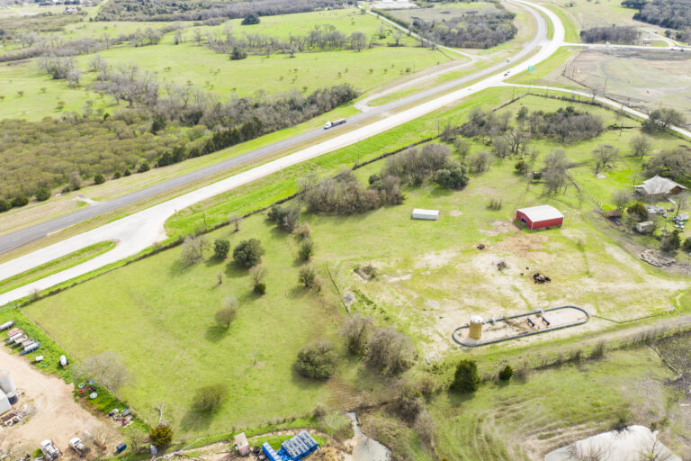 Ariel View of Texas Lot on HWY 36