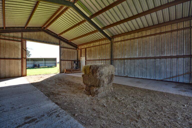 Hay Barn Interior A