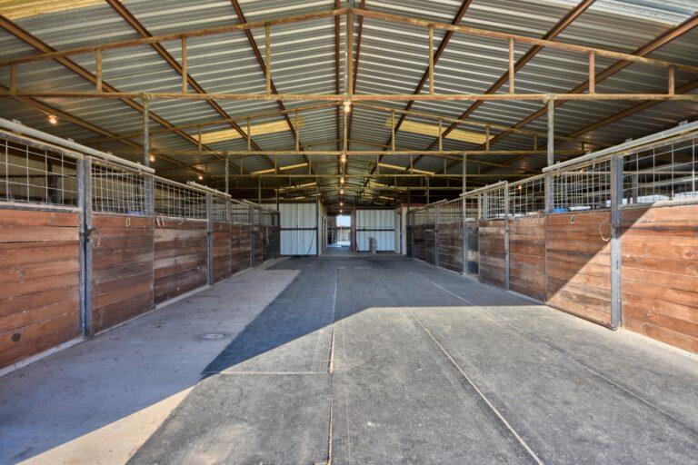Horse Barn Interior A