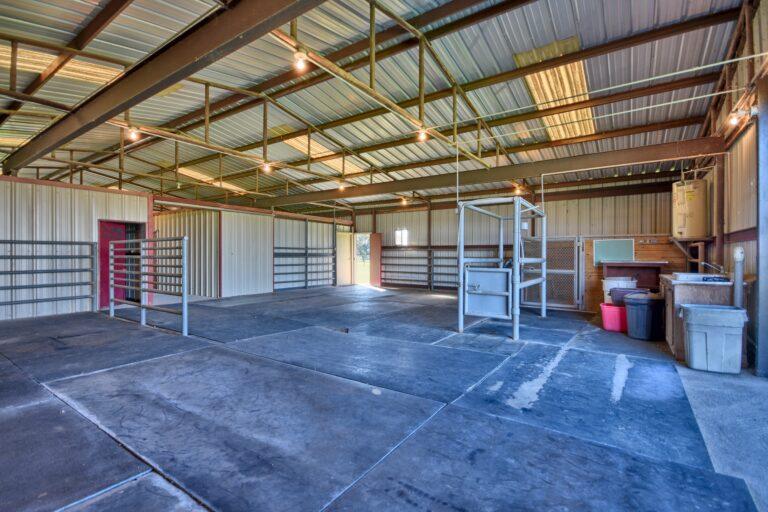 Horse Barn Interior C