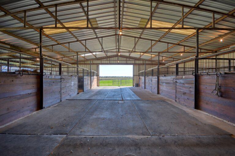Horse Barn Interior E