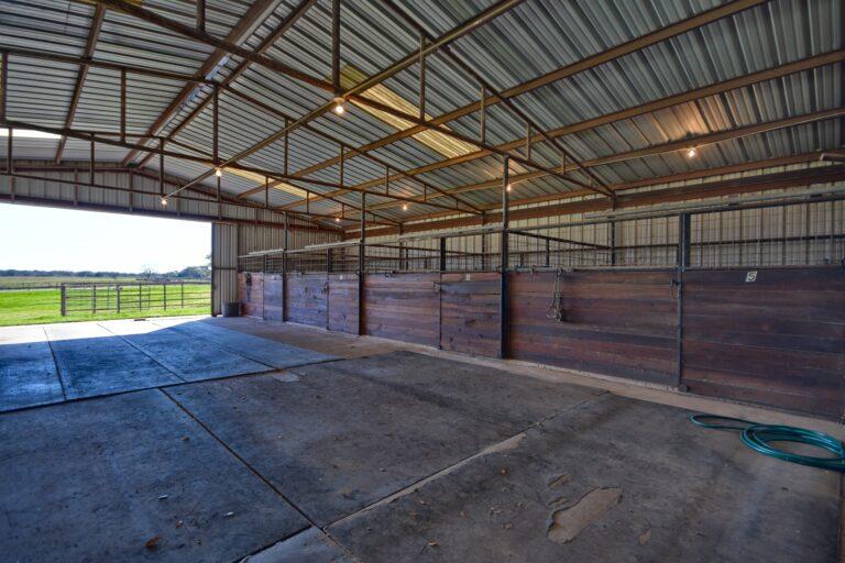 Horse Barn Interior G
