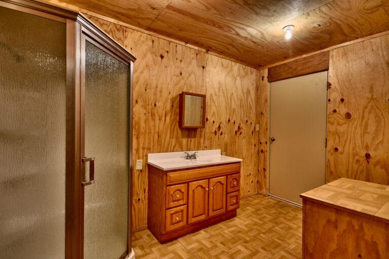 Horse Barn Interior Office Bathroom