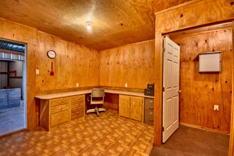 Horse Barn Interior Office Lab A