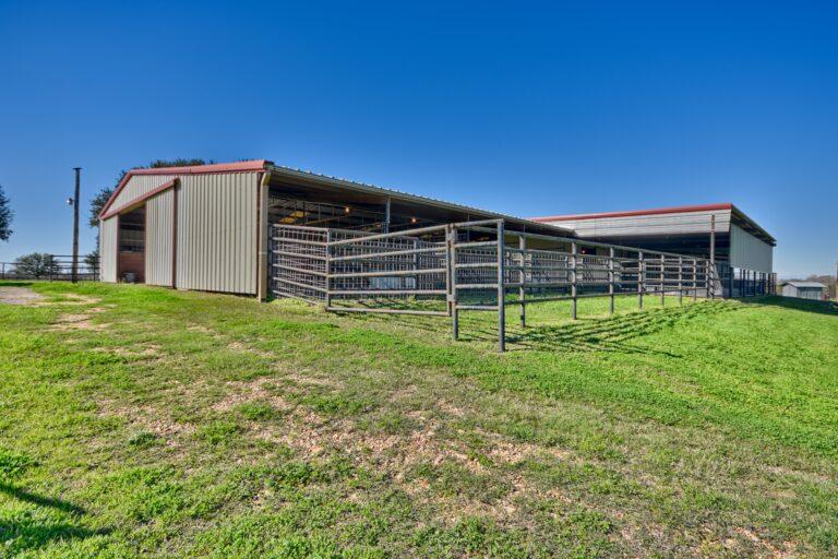 Horse Barn Right Side