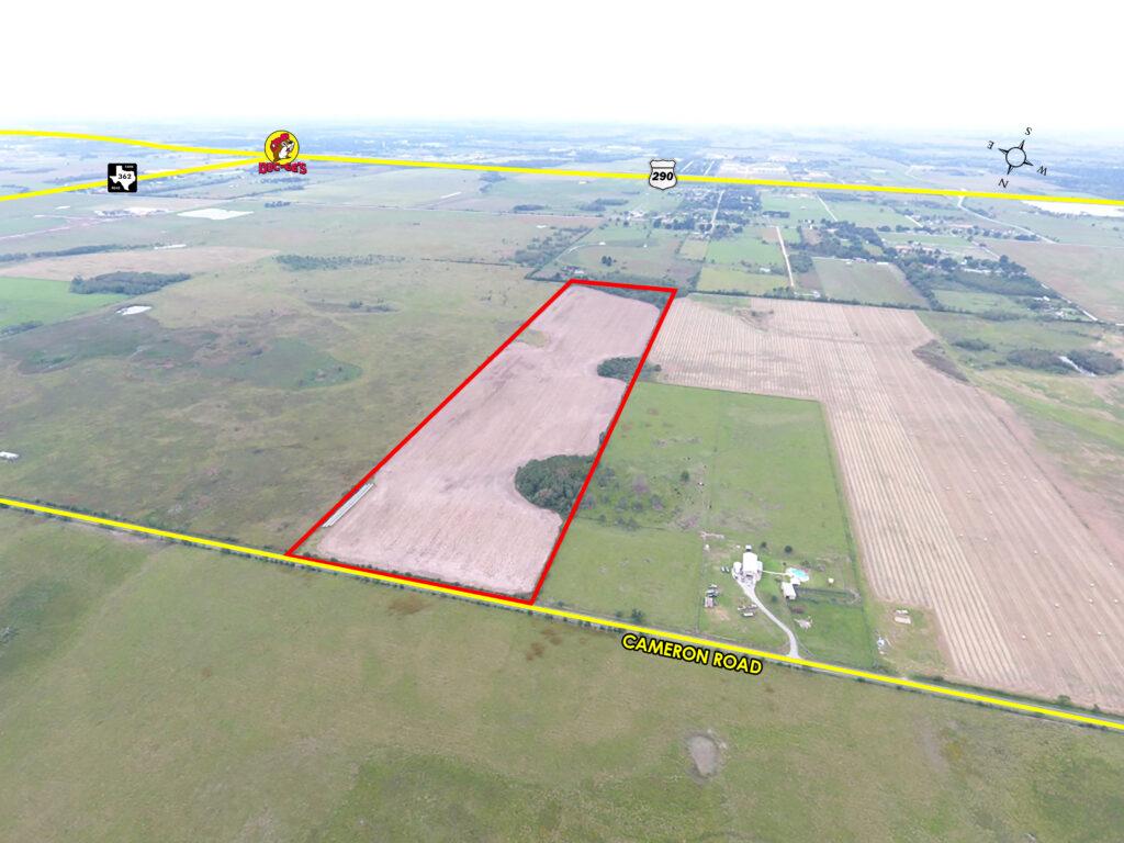 Cameron Road Property Map