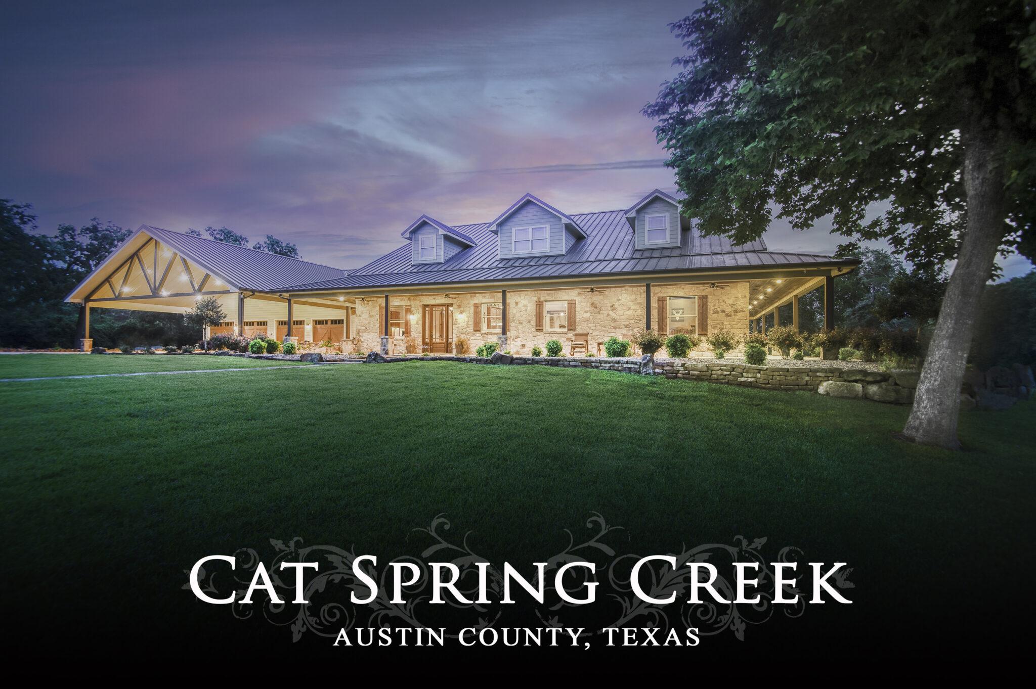 Cat Spring Creek- 6892 Palm Road