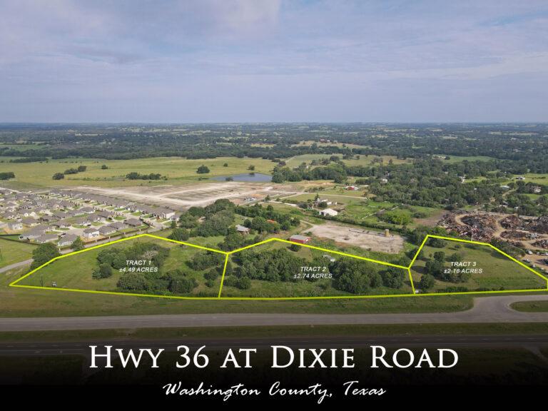 HWY 36 at Dixie Road