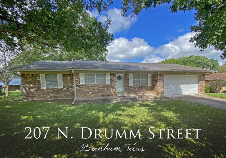 207 N. Drum Street